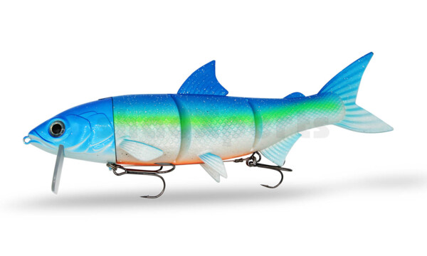 "HYRO25FB RenkyOne - Hybrid Fishing Lure 10"" (ca. 25 cm) slow sinking Funky Blue"