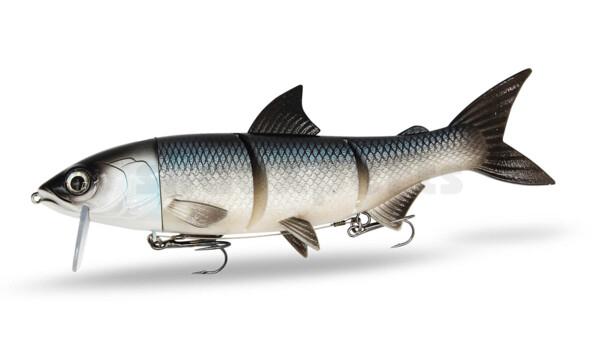 "HYRO25WF RenkyOne - Hybrid Fishing Lure 10"" (ca. 25 cm) slow sinking White Fish"