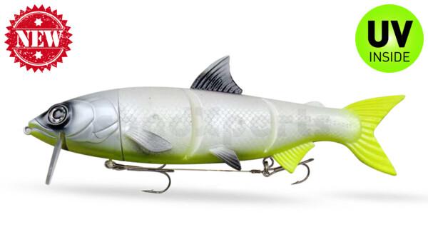 "HYRO25LC RenkyOne - Hybrid Fishing Lure 10"" (ca. 25 cm) slow sinking Lemon Cream"