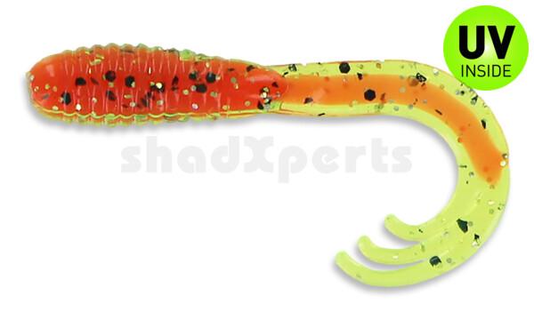 """000645042 Triple Tail Grub 2""""  (ca. 5 cm) Tomato Core"""