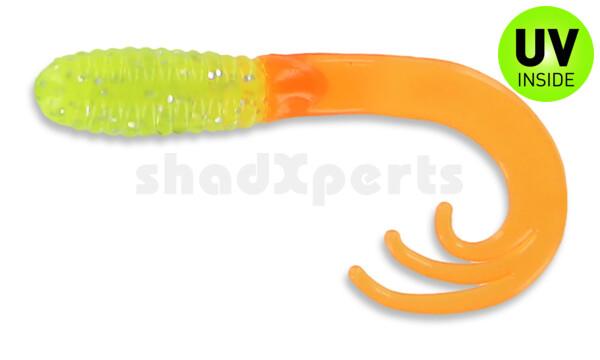 "000645027 Triple Tail Grub 2""  (ca. 5 cm) Chart Shine Org Tail"
