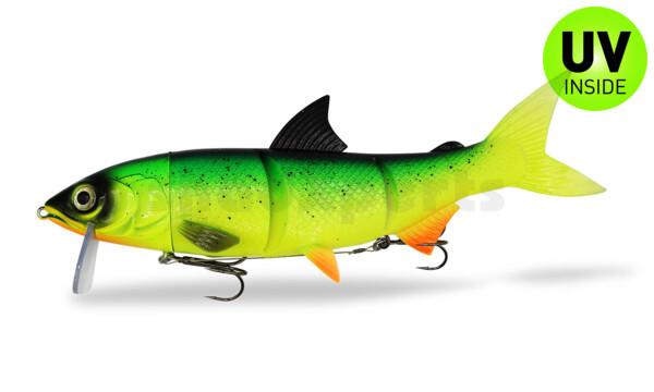 "HYRO26GI RenkyOne - Hybrid Fishing Lure 10"" (ca. 25 cm) slow sinking Green Inferno"