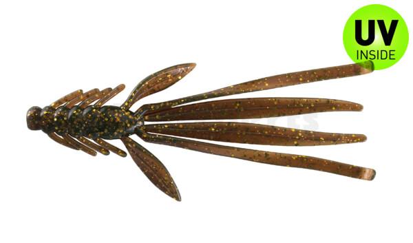 """003914092 Nymph 5"""" (ca. 14,0 cm) motoroil-gold-glitter"""